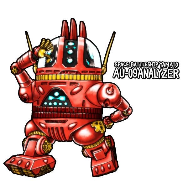 AU-09アナライザー:お絵描き配信