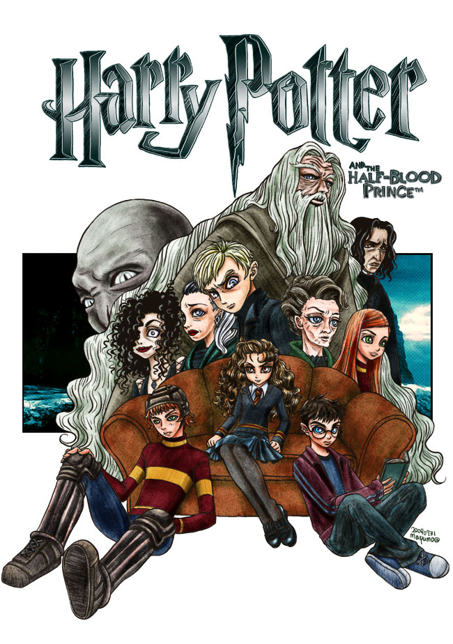 spinout:Harry Potter And the HALF-BLOOD PRINCE