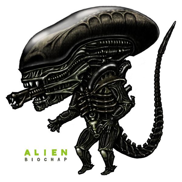 エイリアンのビッグチャップ-The Alien 'Big Chap'